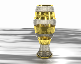 3D Vase Zubr