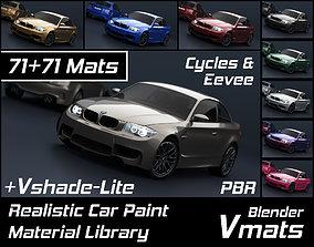 VMATS Car Paint Material Library for Blender 3D model 3