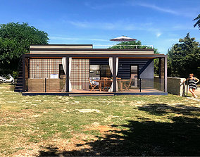 Mobile home Vacation house tiny house PAG RT 3D model 2