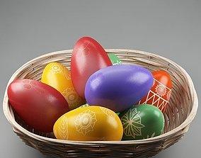 Easter eggs 02 3D