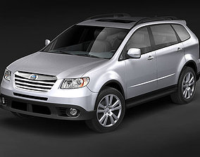 3D model Subaru Tribeca