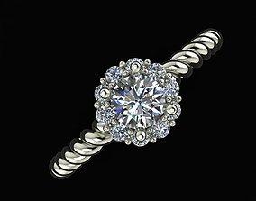 Ring diamond 3D