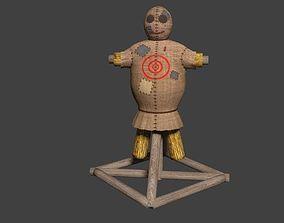 3D model Archery Target Mannequin