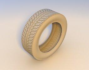 3D model low-poly tires