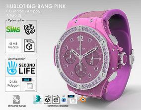 3D model Hublot Big Bang Pink