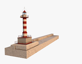 3D Lighthouse landmark