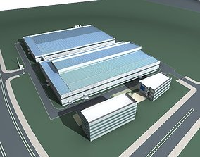 3D Industry Building high