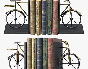 Bicycle Book Ends 3D