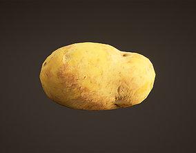 3D asset Potato Game Ready