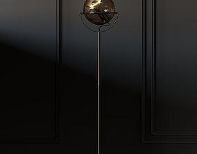 Globe 2000 Floor Lamp by Frank Ligtelijn 3D model