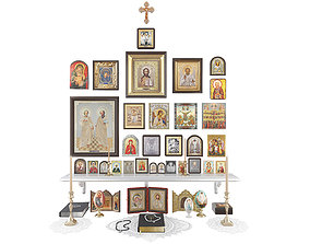 3D Christianity Icons christian