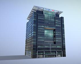 3D asset London 5 Canada Square