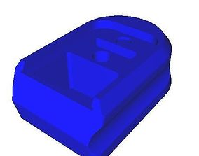 PPQ base plate extended 3D printable model
