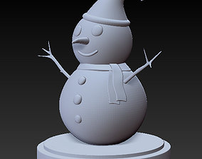 Snowman for 3D Printing