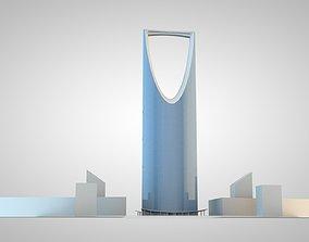 3D model Riyadh Tower four seasons Riyadh