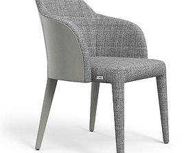 Fendi Chair Cream Suit 3D asset