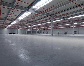3D model Industrial Warehouse Interior 6