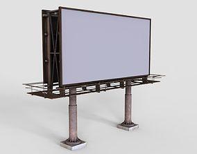3D asset realtime Billboard city