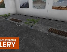 Showroom Environment - gallery 3D model