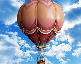3D asset Cartoon Hot Air Balloon