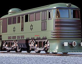 3D vehicle train