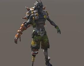 3D asset Junkrat from Overwatch