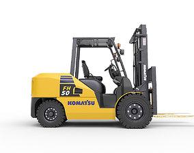 Forklift FH50 Komatsu 3D