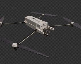 3D asset UAV Spectator Drone