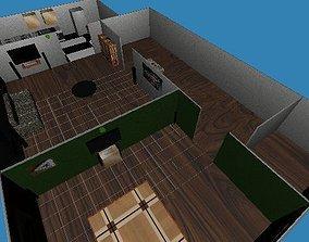 3D printable model InteriorHouse