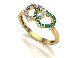 brillant 3D printable model light ring