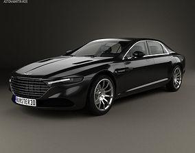 3D model Aston Martin Lagonda 2014