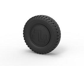 3D printable model Diecast Offroad wheel 31