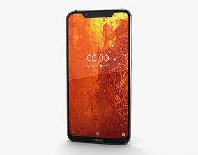 Nokia 8-1 Steel Copper 3D