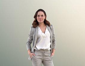 Juliette 10778 - Business Woman Standing With 3D asset 2