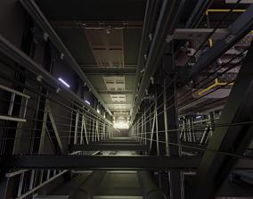 Elevator Frame 3D model