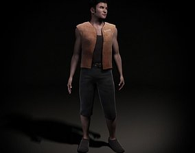 3D model Male Clothed