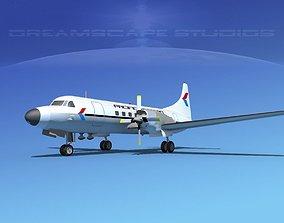 3D Convair CV-580 Pacific Western