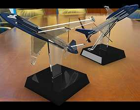 3D model airplane trophie