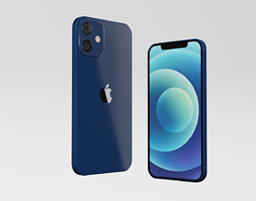 Iphone 12 and Iphone 12 Mini 3D model