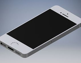 3D asset iphone 5 low-poly