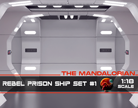 The Mandalorian - Rebel Prison Ship 1 3D printable model 4