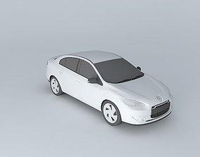 2011 Renault Fluence ZE 3D model