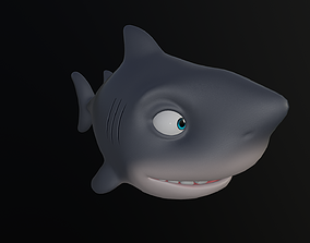 rigged Asset - Cartoons - Animal - Shark