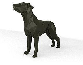 Dog Lowpoly 3D asset