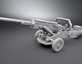 3D printable model M102 105mm Howitzer