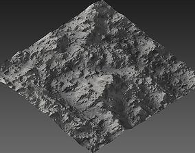 space 3D asset Large-Scale Moon Environment