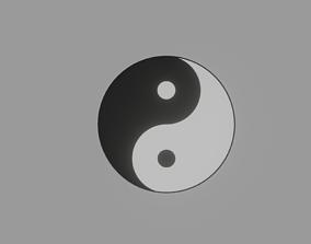 3D model Yin and Yang