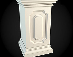 toto 3D model Pedestals
