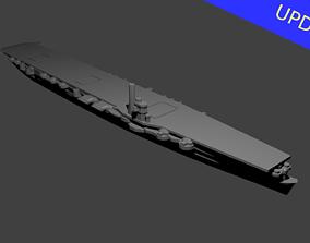 3D print model Japanese Aircraft Carrier Soryu