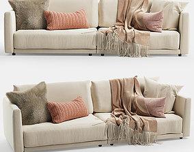 3D Novamobili MAC sofa 2 seater
